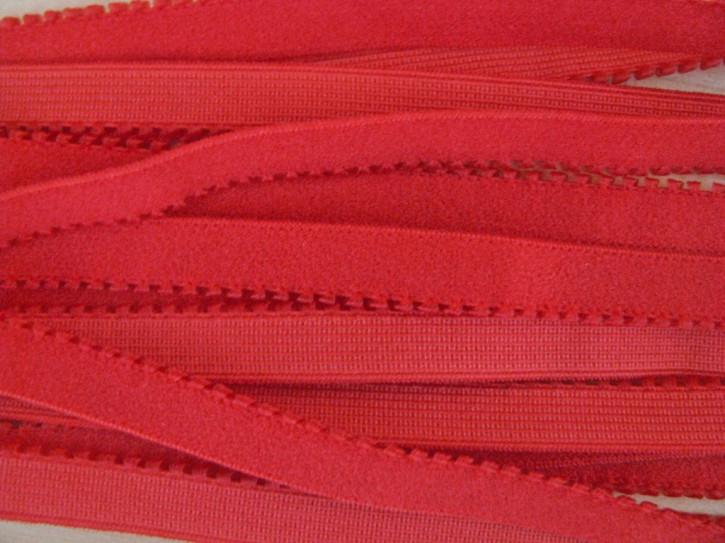 6m Unterbrustgummi in mohn-rot Fb0102