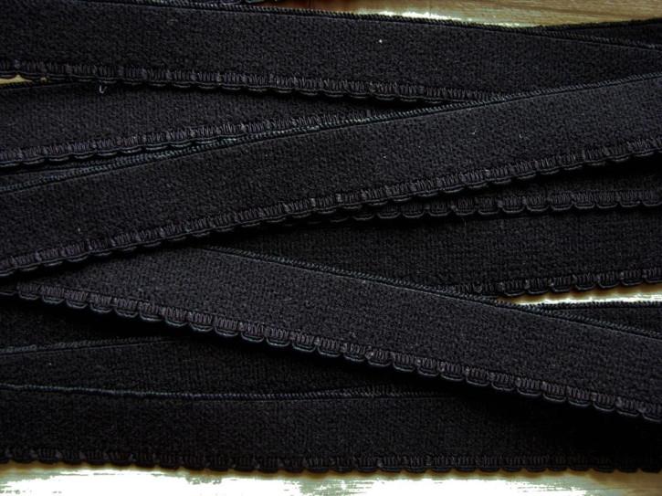 6m Unterbrustgummi in schwarz Fb4000 - 11mm