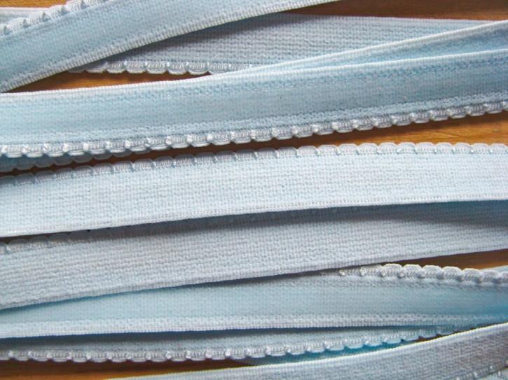 6m Unterbrustgummi/Silikon in baby-blau Fb0818