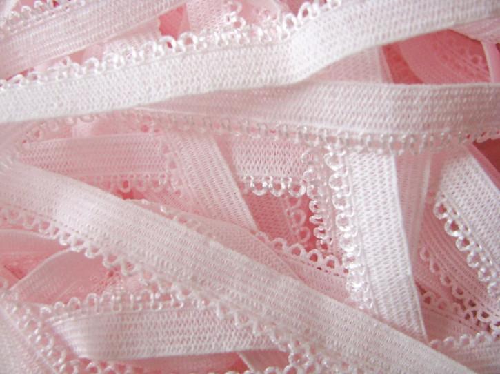 6m Wäschegummi in einem Hauch von rosa Fb0082
