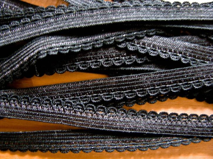 6m Wäschegummi in schwarz Fb4000