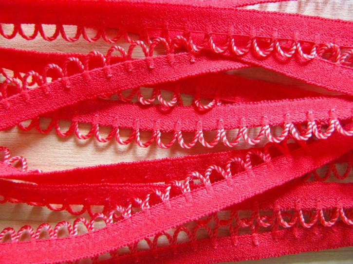 6m Wäschegummi in rojal-rot Fb0503