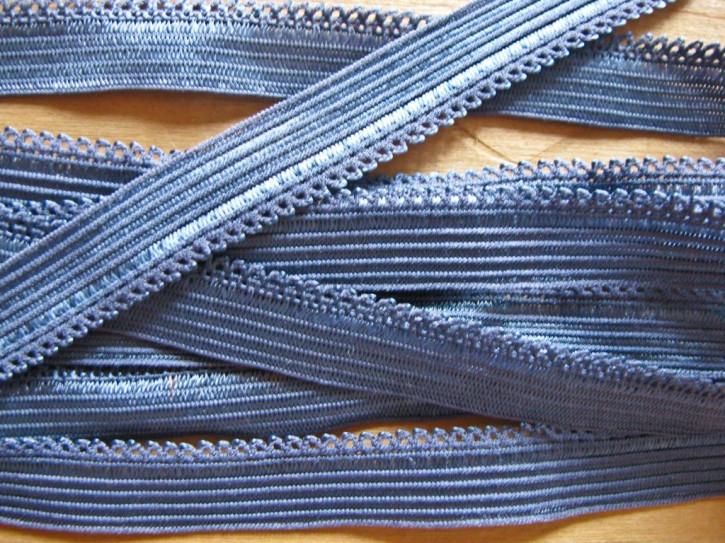 6m Wäschegummi in jeans-blau Fb1467