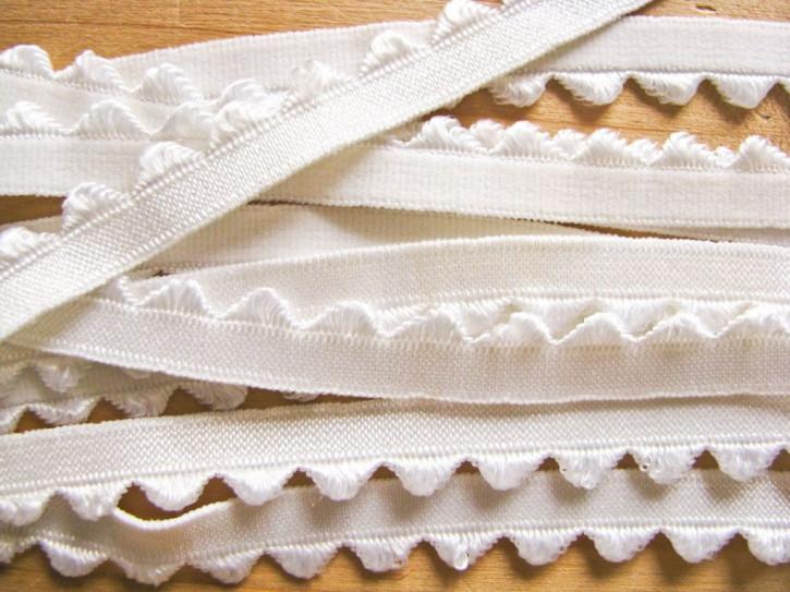 6m Wäsche-/Unterbrustgummi in off-white Fb1000