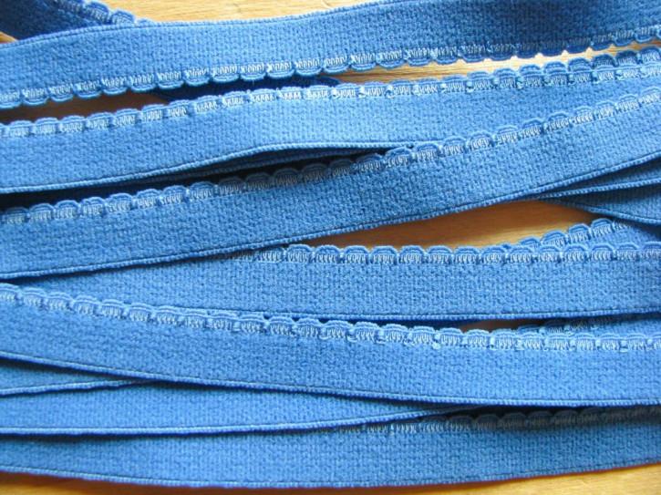6m Wäsche-/Unterbrustgummi in korn-blau Fb1463