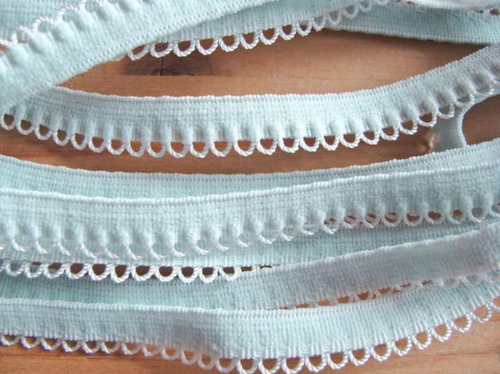 6m Wäschegummi in zartem mint/ice Fb0023