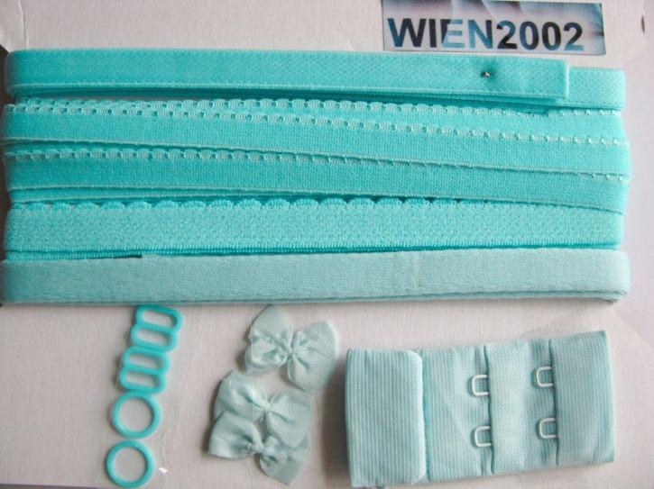 Kurzwarenpaket in pool/türkis-blau Fb0409