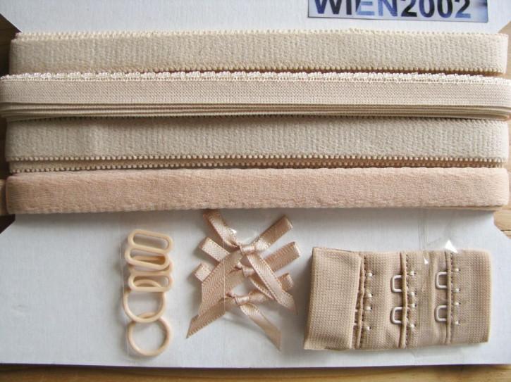 Kurzwarenpaket in hautfarbe/h.beige Fb0097