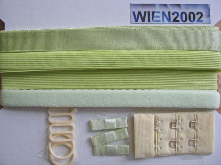 Kurzwarenpaket in lime//Richtung pistazie Fb1309