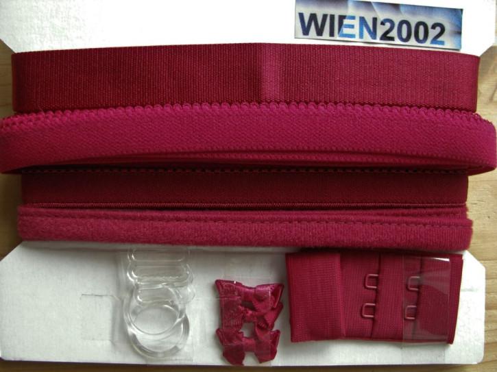 Kurzwarenpaket in Kurzwarenpaket in wein-rot Fb0918