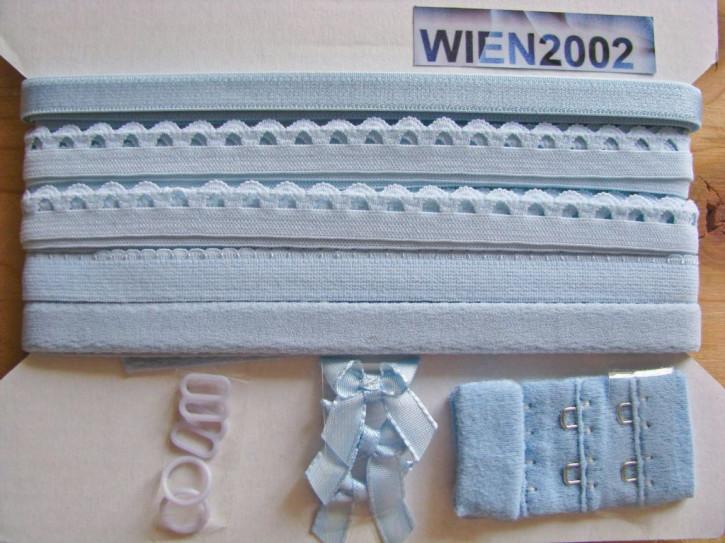 Kurzwarenpaket in hell-blau Fb1469
