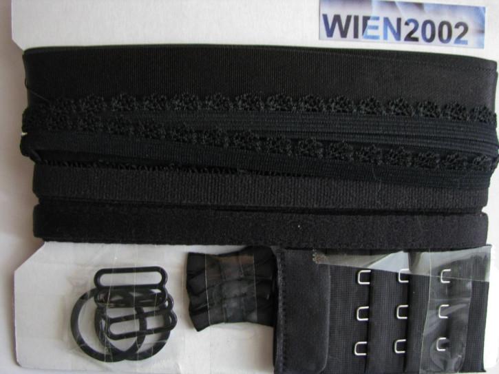Kurzwarenpaket in schwarz Fb4000