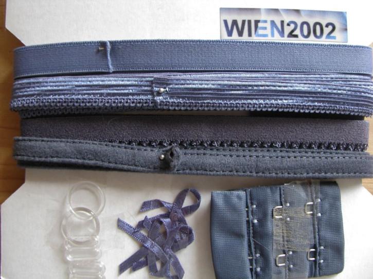 Kurzwarenpaket in jeans-blau Fb1467