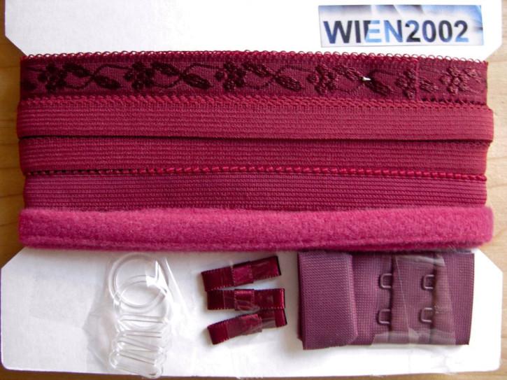 Kurzwarenpaket in d.kaminrot Fb1348