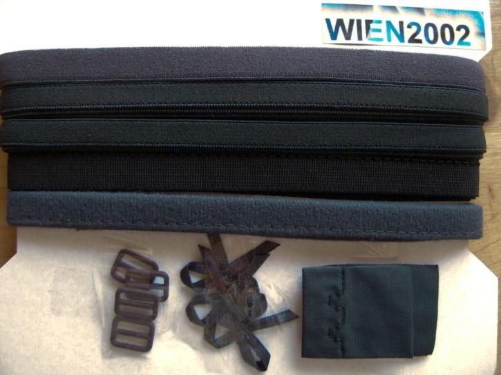 Kurzwarenpaket in dunkel-grau Fb1282