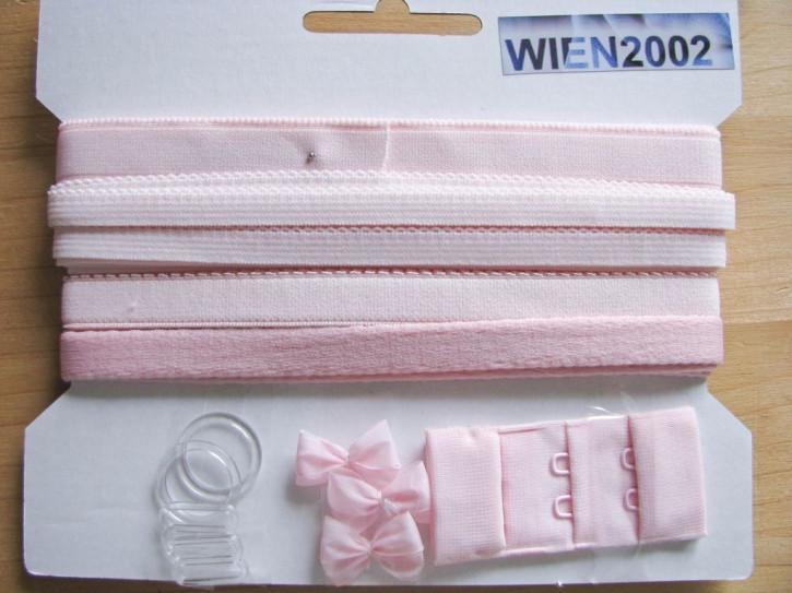Kurzwarenpaket in baby-rosa Fb1056