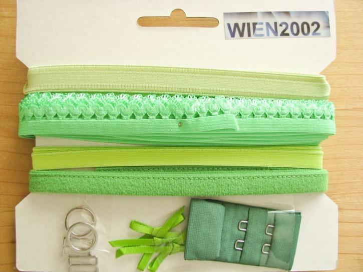 Kurzwarenpaket in gras-grün Fb1099