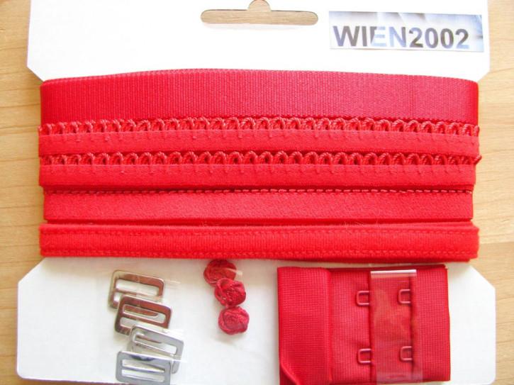 Kurzwarenpaket in hot-rot Fb0503