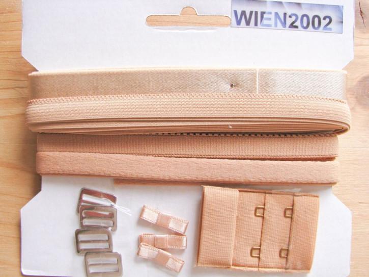 Kurzwarenpaket in dunklem make-up/nugat Fb0087