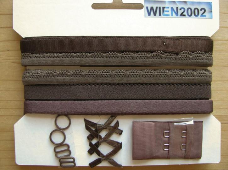 Kurzwarenpaket in negro-braun Fb1002