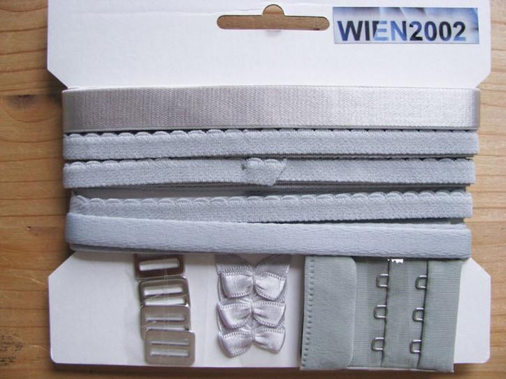 Kurzwarenpaket in silber-grau/platino Fb3501