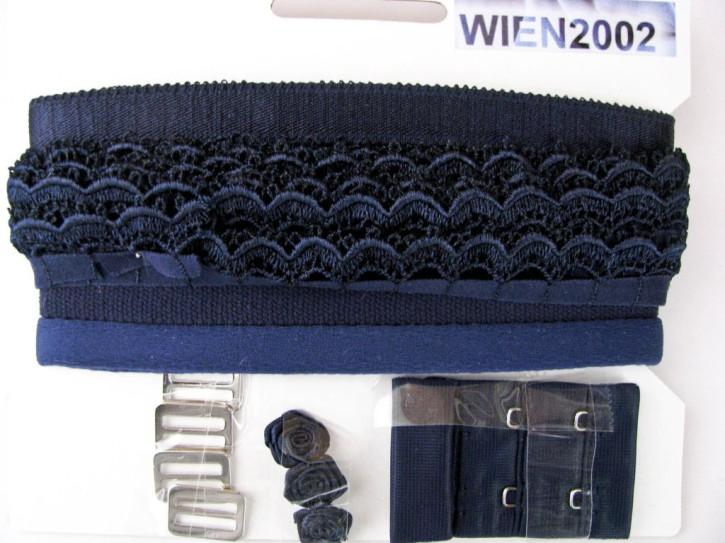 Kurzwarenpaket in dunkel-blau Fb0016