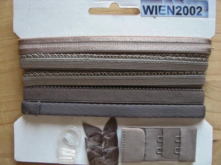 Kurzwarenpaket in heller taupe Fb1228