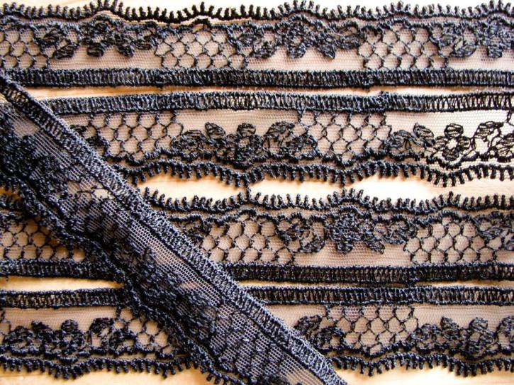 4m bestickte Zierborte in schwarz Fb4000