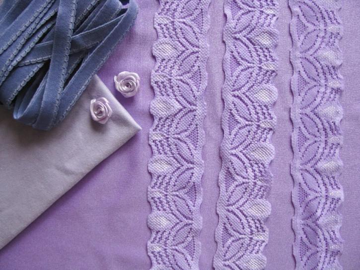 "1 Pkt. Materialpaket ""Milka purple"" - Slipset"