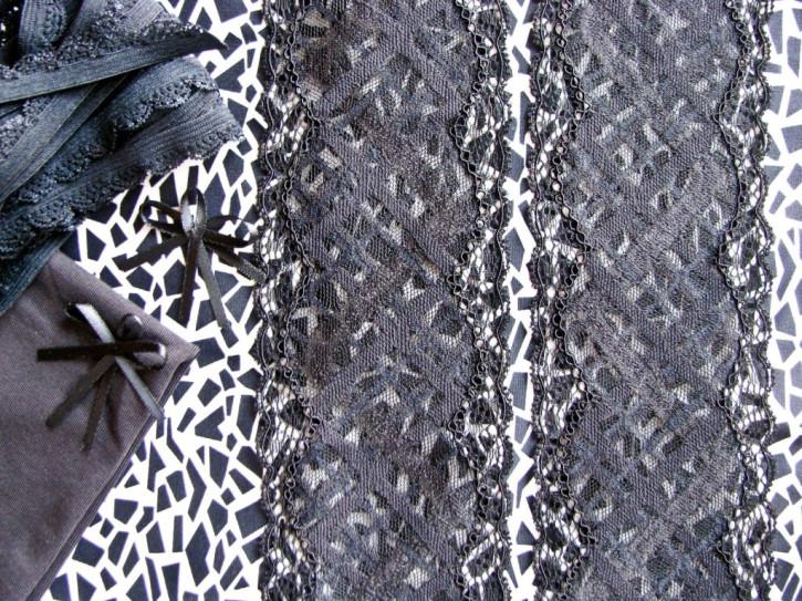 """1 Pkt. Materialpaket """"Black & White"""" - Slipset"""