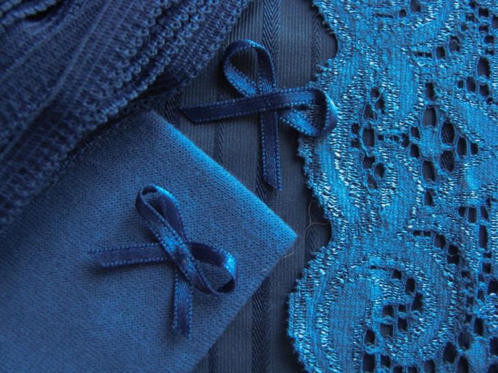 """1 Pkt. Materialpaket """"Blue Velvet"""" - Slipset"""