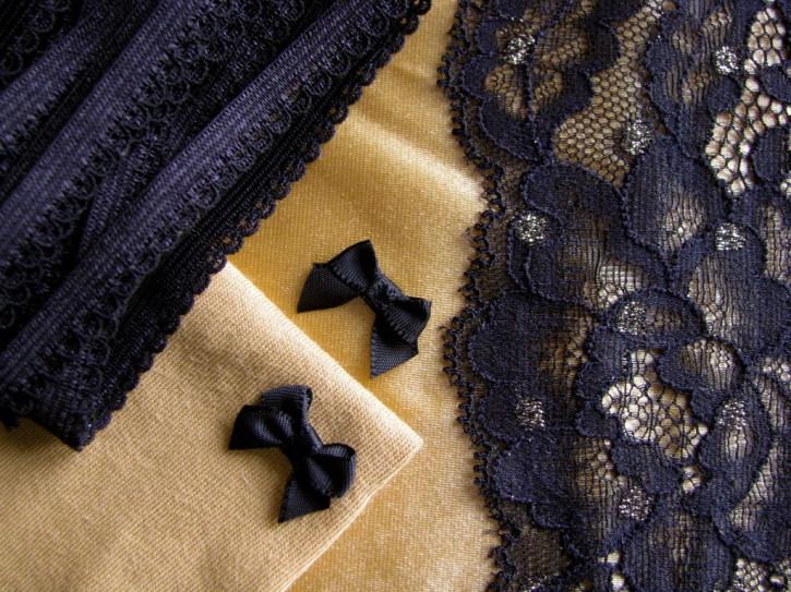 "1 Pkt. Materialpaket ""Black & Gold"" - Slipset"