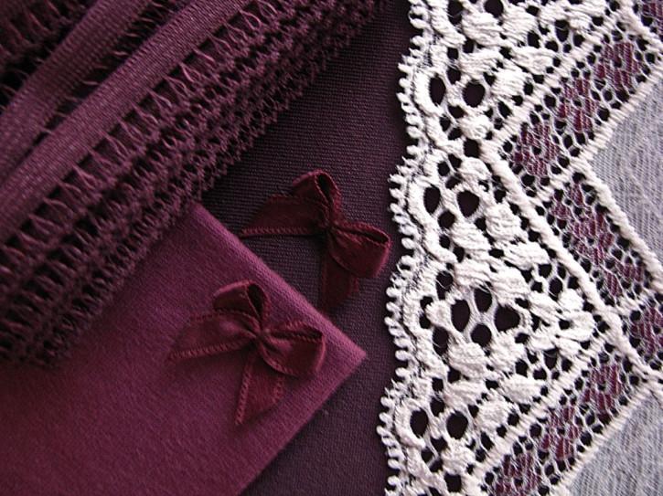 """1 Pkt. Materialpaket """"Velvets in Aubergine"""" - Slipset"""