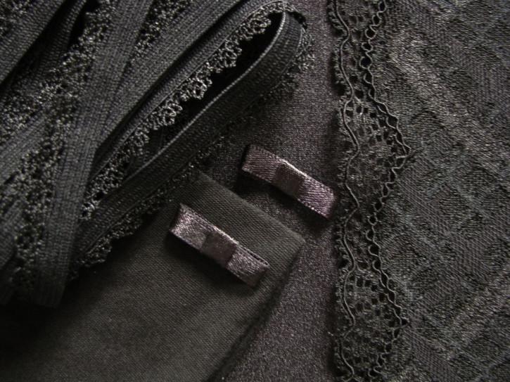 """1 Pkt. Materialpaket """"Black Velvet"""" - Slipset"""