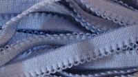 6m Wäsche - Unterbrustgummi puderblau Fb1464