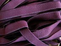 6m Besatz-/Einziehgummi in rötlichem-lila Fb0060