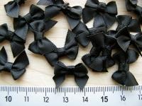 4 Stk. Schleifchen in schwarz Fb4000