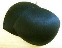 1 Paar BH-Körbchen/Schalen in schwarz 40er