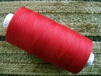 1 Spule Nähgarn in orient-rot Fb0628