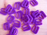 10 Stk. Haken in veilchen-lila