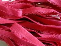 6m Unterbrustgummi in nelken-rot Fb0629