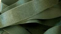 5m Satin-Träger-Gummi in lorbeer-grün
