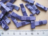 4 Schleifchen in azur-blau