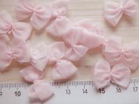4 Schleifchen in baby-rosa