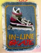 Bügelbild -Inline Skating-