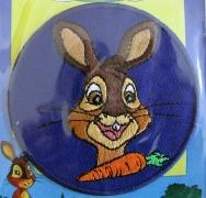 Bügelbild -Hasen Bunny-