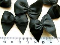 4 Schleifchen in schwarz Fb4000