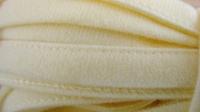 1m Bügelband in teerose/hellgelb Fb0129