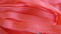 6m Paspelgummi in leicht rosigem hummer-rot Fb0104