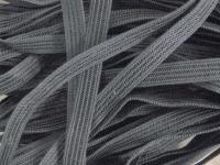 10m Dekolleté-Gummi in rauch-grau Fb1360
